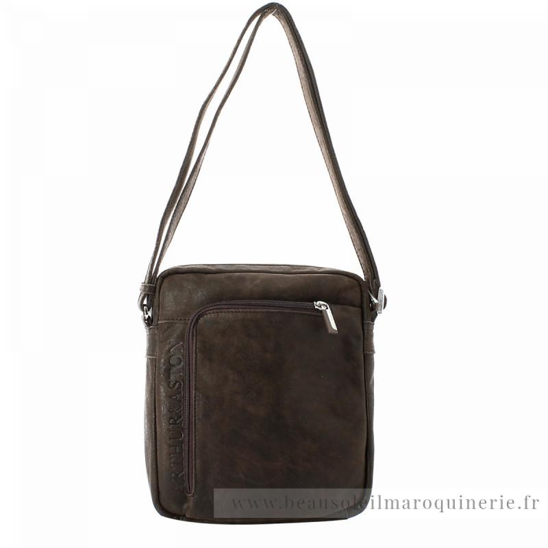 1438 - Sac bandoulière zippé