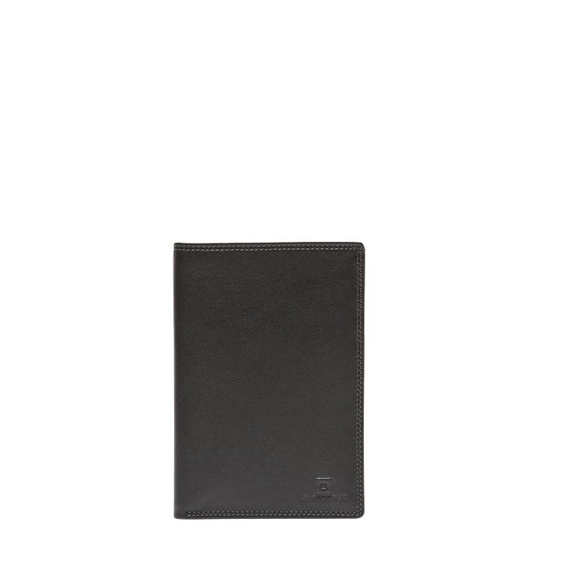 Portefeuille Touraine en cuir de vachette