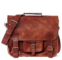 Grand sac en cuir Le Cartable L