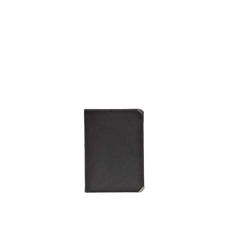 Portefeuille en cuir avec volet amovible Protocole