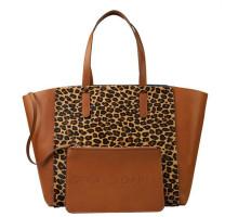 Sac cabas léopard Le Simple Two