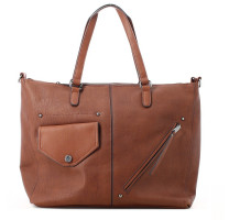 Sac shopping multipoche similicuir