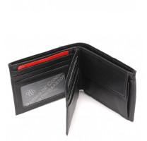 Portefeuille horizontal 3 volets en cuir de vachette 1742