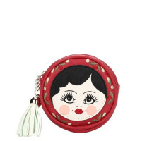 Porte-monnaie rond Russian Dolls