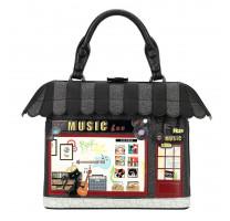 Sac à main pailleté Music Box