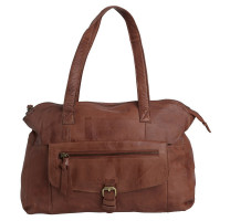 Sac shopping en cuir PIECES