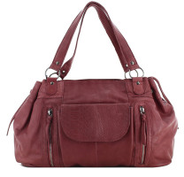 Sac shopping en cuir Jihano