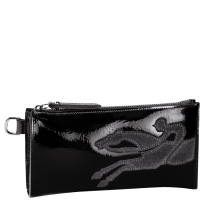 Pochette zippée Shop-It verni