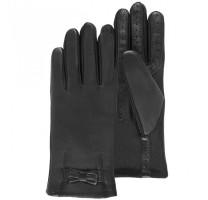 Gants cuir de mouton doublé polaire fin écrans tactiles - extensibles - Isotoner