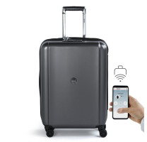Valise trolley connectée 65cm Pluggage