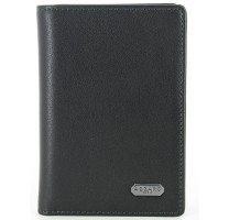 Portefeuille / cartes en cuir de vachette nappa lisse