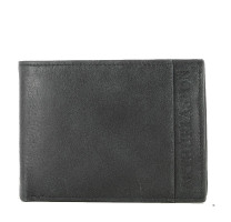 Porte cartes + monnaie en cuir de vachette