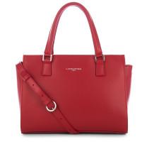 Constance - Petit sac trapèze cuir lisse