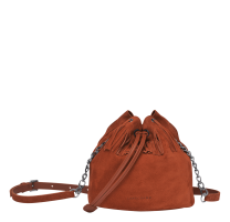 Sac seau franges Longchamp Paris Rocks Velours L1344885