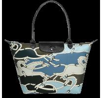 Grand sac porté épaule L Longchamp Le Pliage Galop L1899684