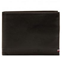 Portefeuille cuir pour homme Tommy Hilfiger Selvedge AM0AM03865