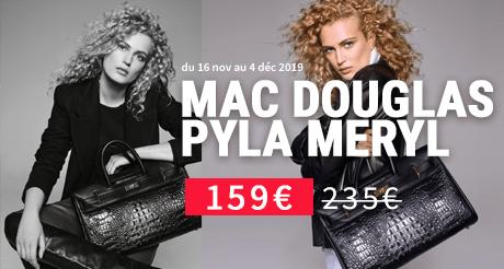 BLACK FRIDAY : votre sac Mac Douglas Pyla croco Meryl à prix réduit !