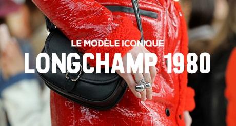 Longchamp 1980 : sac Longchamp authentique nouvelle collection