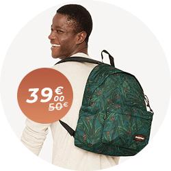 Sac à dos Eastpak en promo à 39€ !