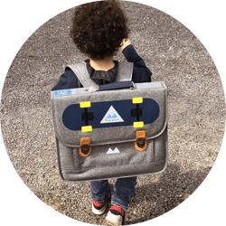 Petit sac à dos ou cartable maternelle