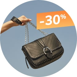 Sac Longchamp Amazone Clous en promotion à -30%