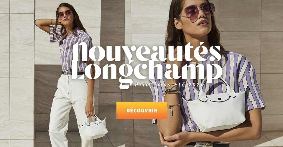 Nouvelle collection sac Longchamp Printemps Eté 2020