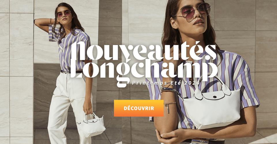 Nouvelle collection sac Longchamp Printemps Eté 2020