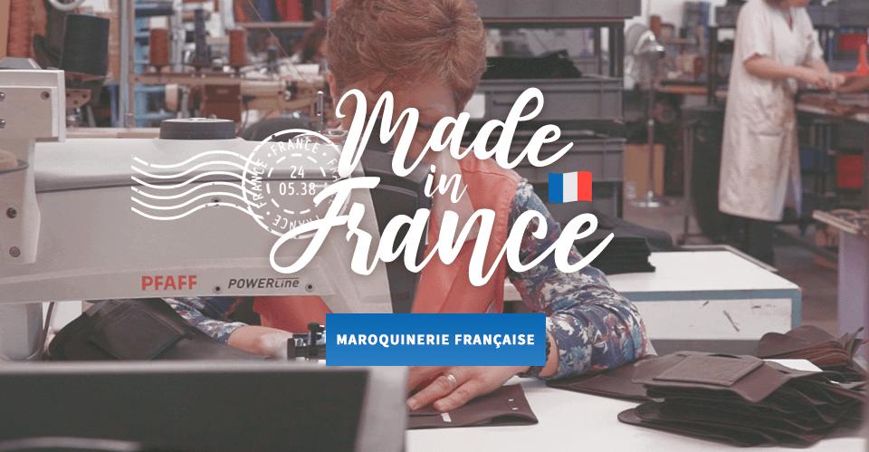 Sac made in France et maroquinerie française à découvrir