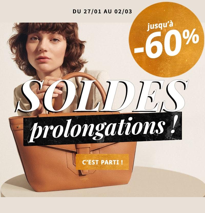 SOLDES maroquinerie : sac, portefeuille et accessoires jusqu'à -50%