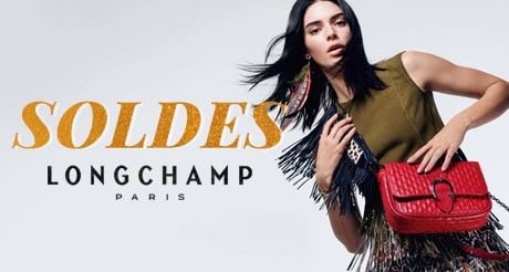 Soldes sac Longchamp ancienne collection jusqu'à -50%