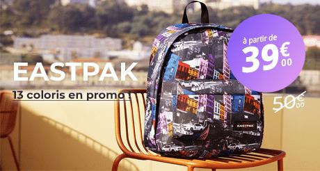 Sac Eastpak en promo