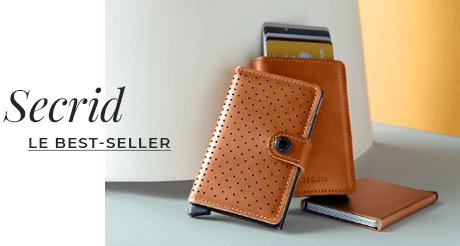 Porte-carte Secrid, notre meilleure vente